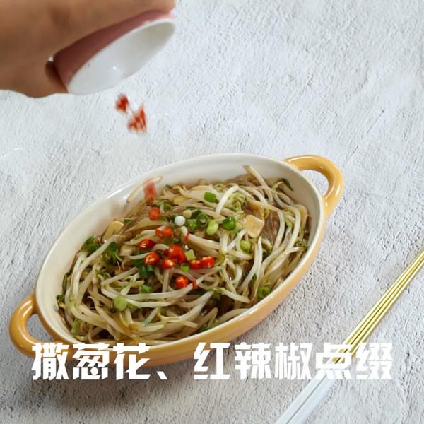 炒豆芽怎么吃