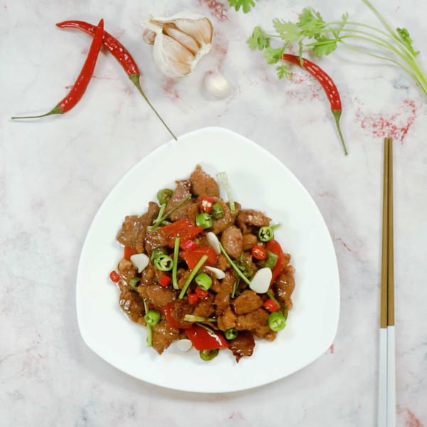 辣椒炒肉怎么做