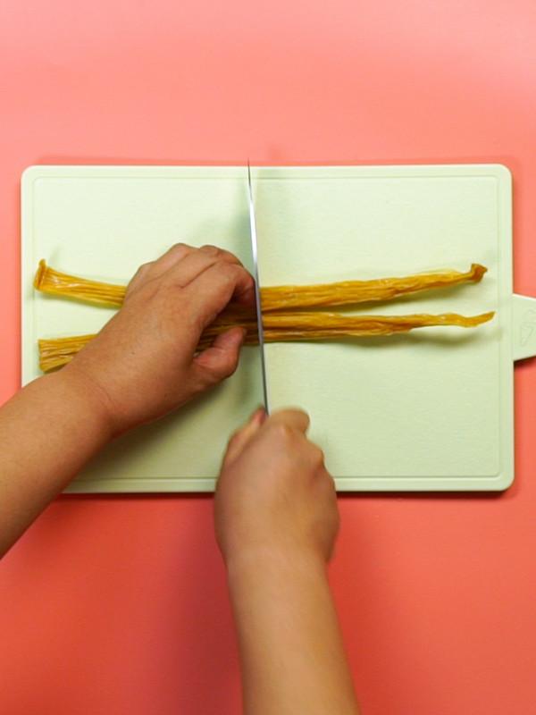 凉拌腐竹的做法图解