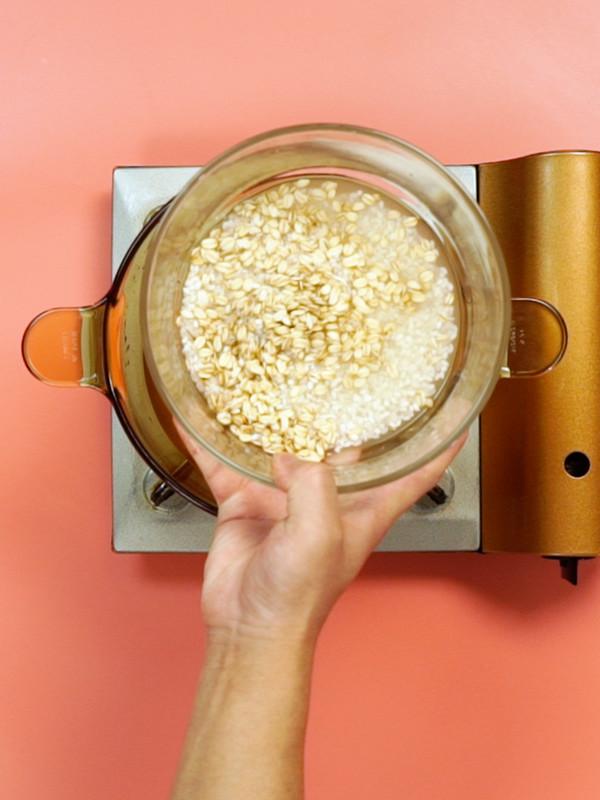 燕麦片粥的做法图解