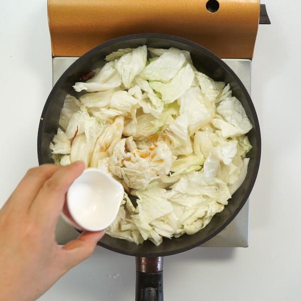 醋溜白菜的家常做法