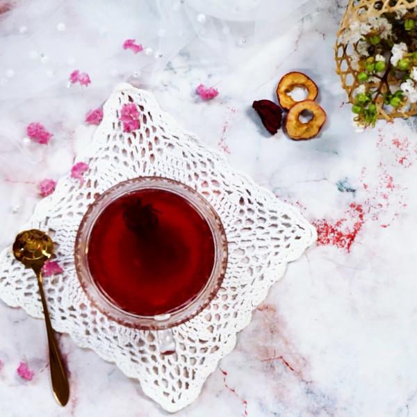 减肥茶成品图