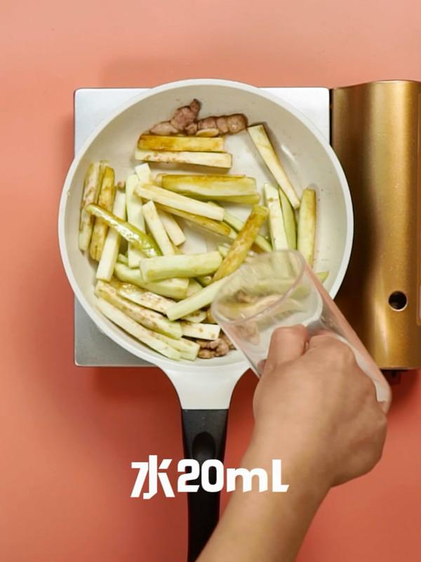 茄子炒肉的简单做法