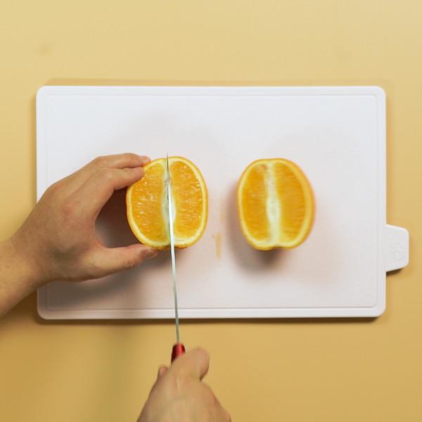 橙汁的步骤