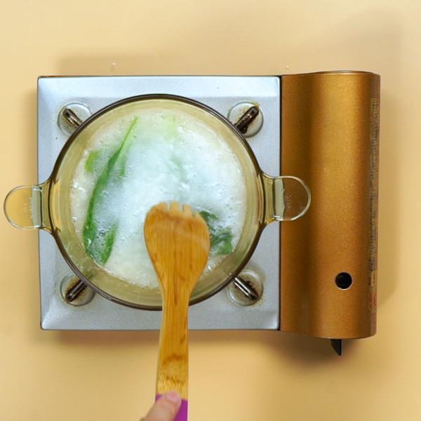 青菜粥的家常做法