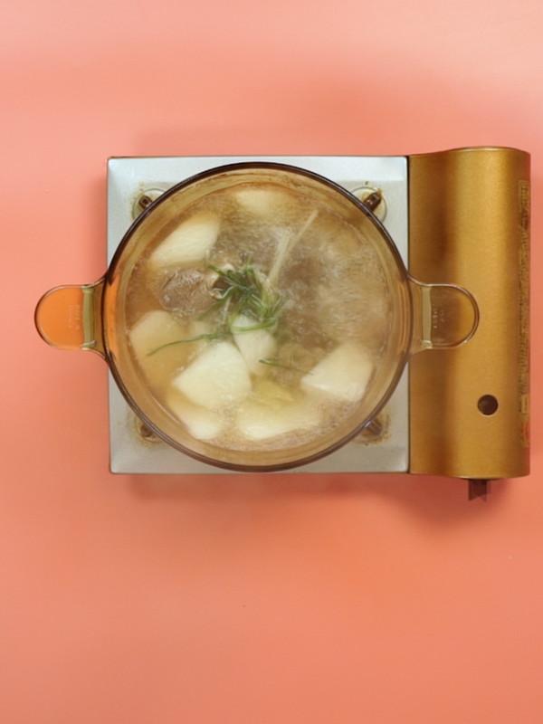 骨头汤成品图