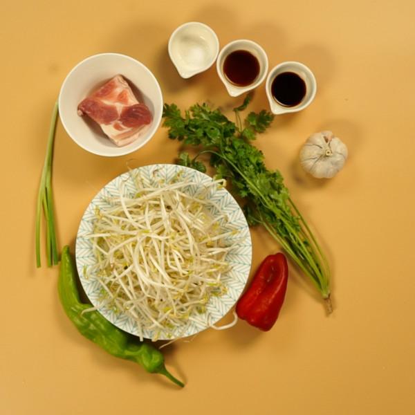 豆芽炒肉的做法大全