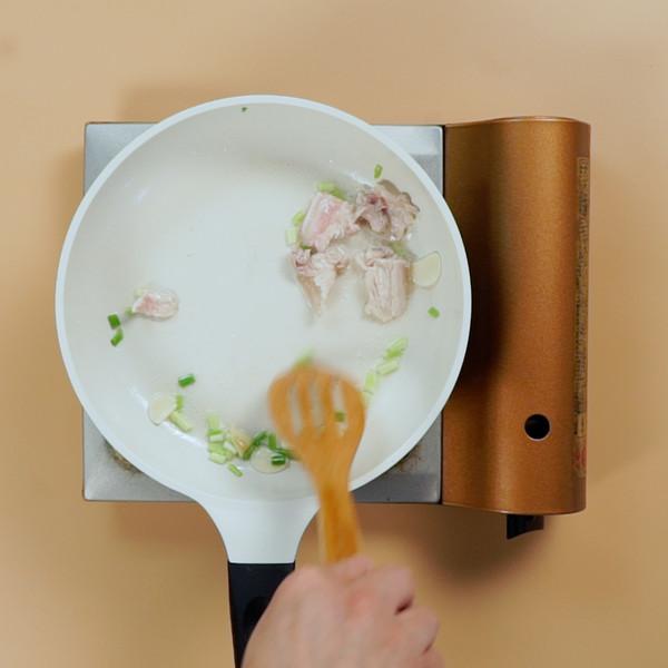 豆芽炒肉的做法图解