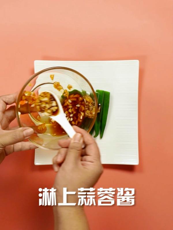 蒜蓉秋葵的简单做法