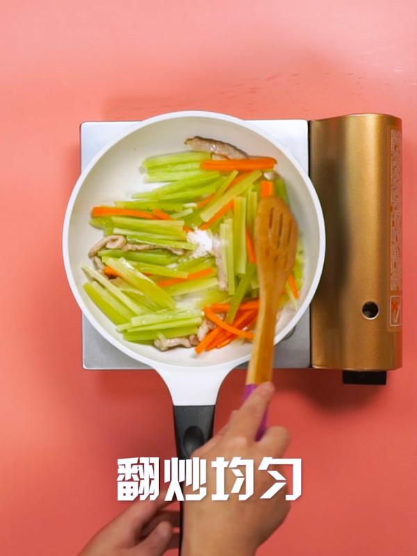 莴苣炒肉怎么煮