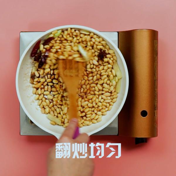 炒黄豆怎么吃