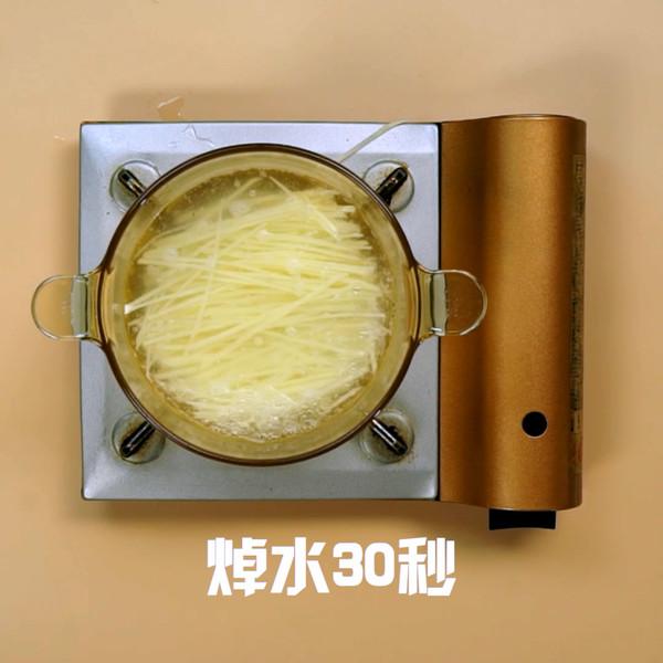土豆丝炒肉的做法图解