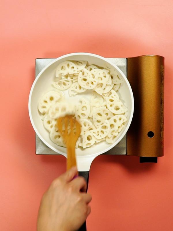 糖醋藕片的简单做法