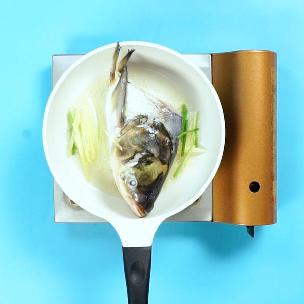 鱼头汤怎么吃
