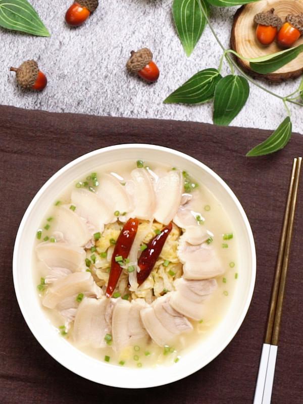 酸菜白肉成品图
