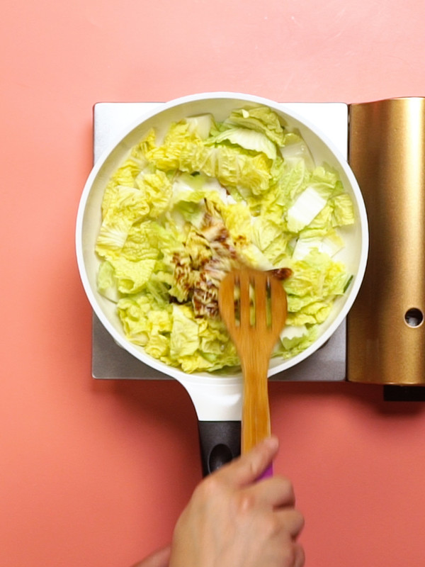 白菜炖冻豆腐的家常做法