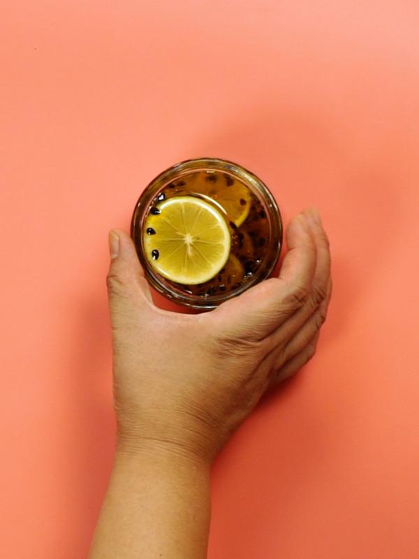 百香果柠檬蜜怎么吃