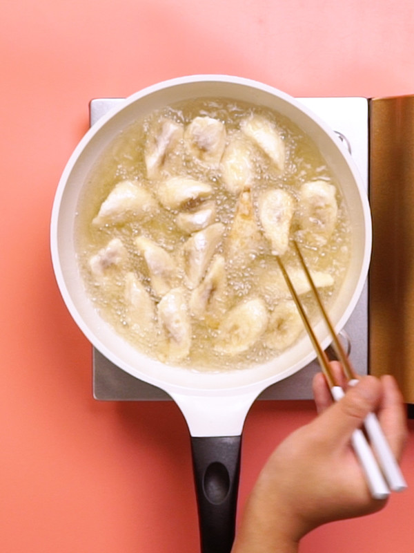 拔丝香蕉的家常做法