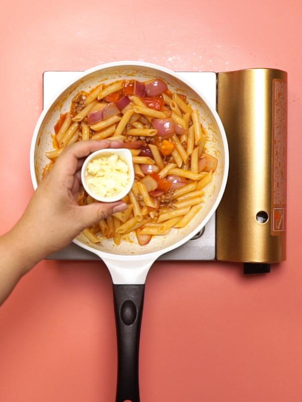 番茄肉酱意面怎么做