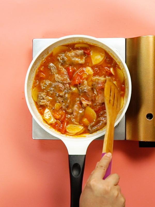 番茄土豆肥牛锅怎么做