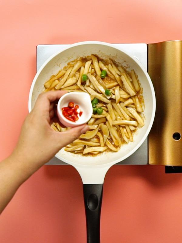 蚝油杏鲍菇的简单做法