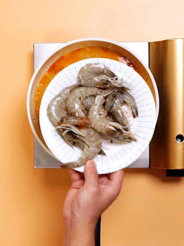 水煮虾的步骤