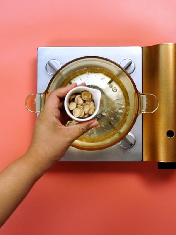 护肝茶的做法图解