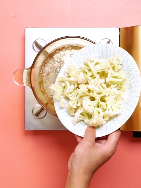 凉拌菜花的家常做法