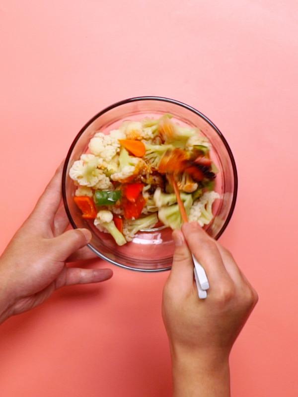 凉拌菜花的简单做法