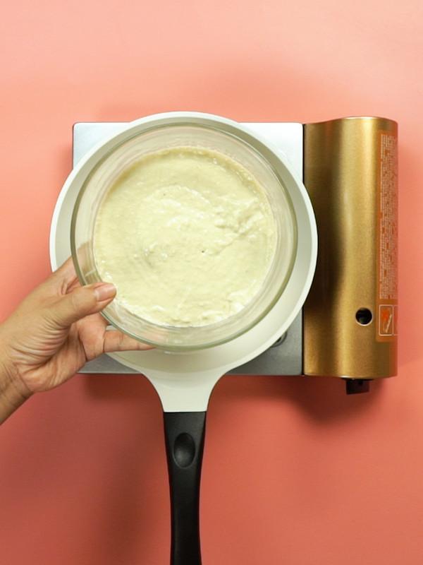 牛油果香松饼的简单做法