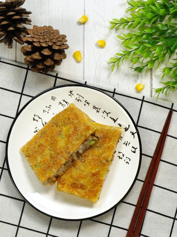 三鲜豆皮成品图