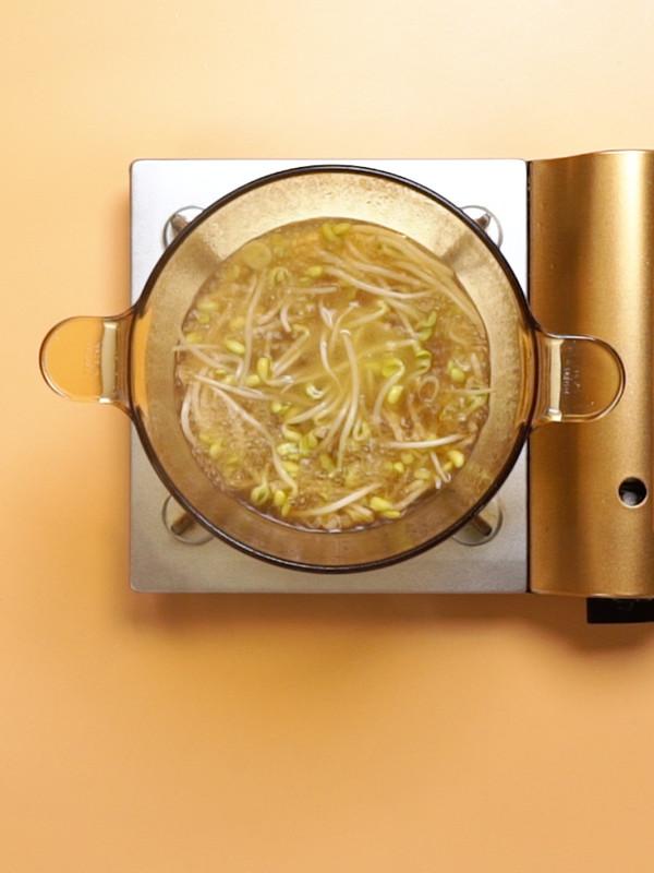 豆芽汤的简单做法