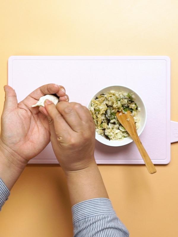 锅贴饺子的做法图解