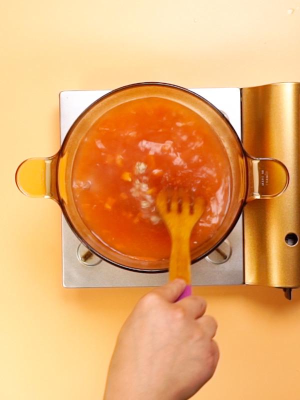 番茄排骨汤怎么吃