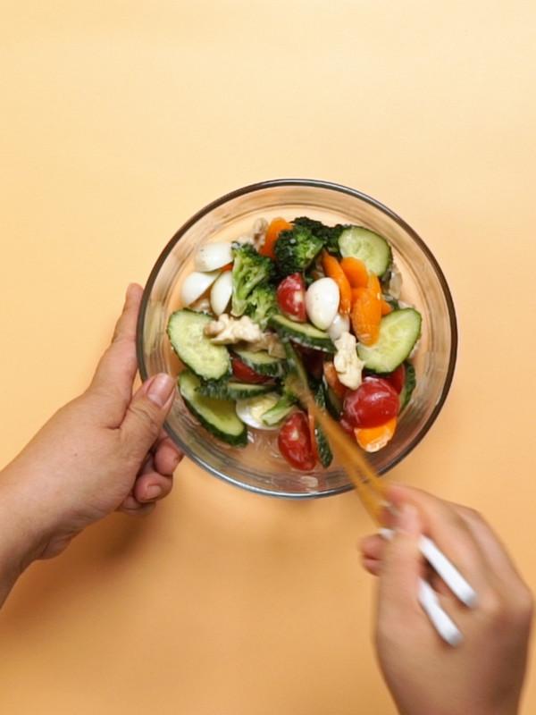 减肥沙拉的家常做法
