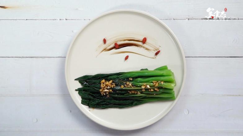 白灼菜心的简单做法