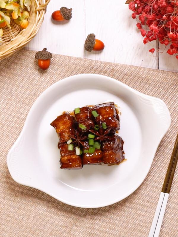 上海红烧肉成品图
