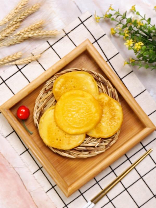 玉米面饼的简单做法