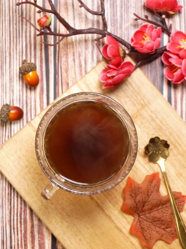 黑糖姜茶成品图