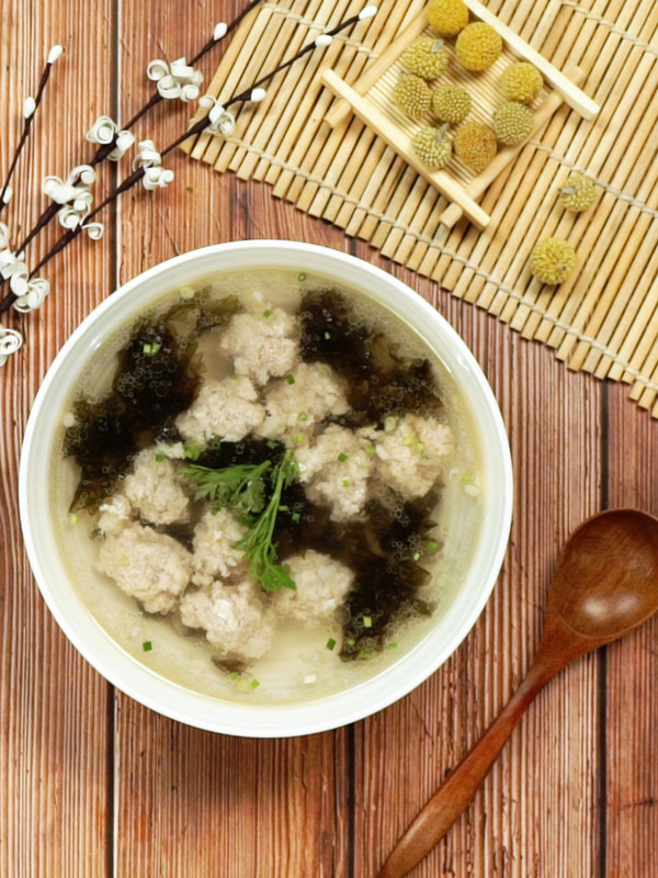 福鼎肉丸汤成品图