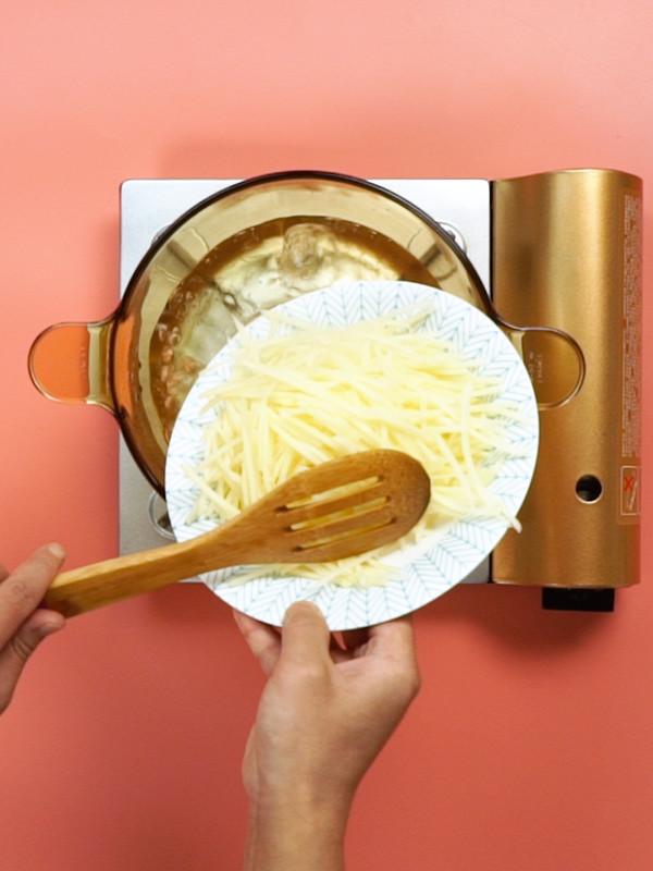 青椒土豆丝的做法图解