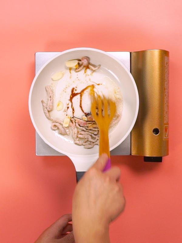 扁豆炒肉的简单做法