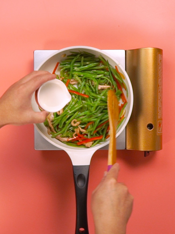 扁豆炒肉怎么做