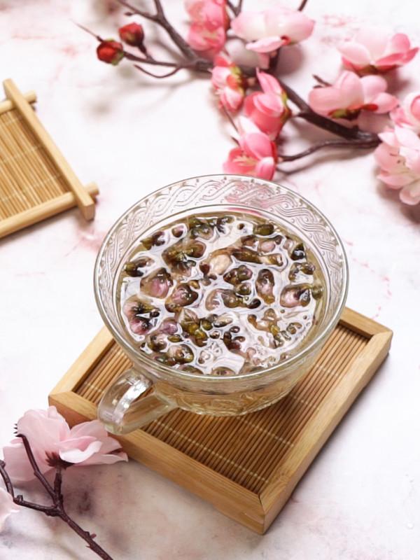 桃花茶成品图