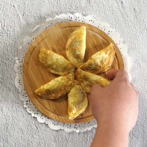 煎蛋饺怎么吃