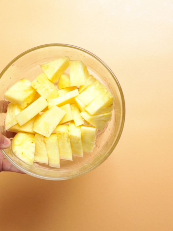 菠萝汁的家常做法