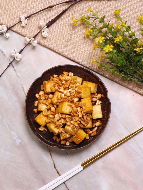 花生豆腐成品图