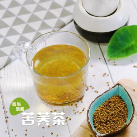 苦荞茶成品图