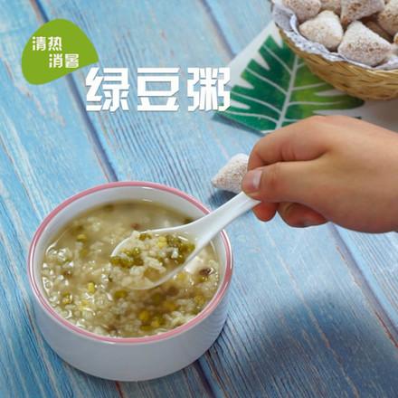 绿豆粥成品图