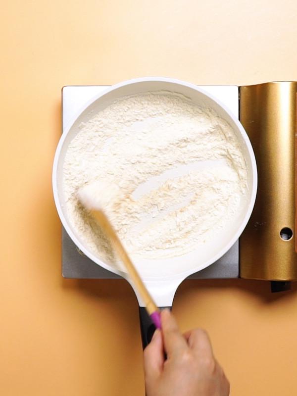 炒面粉的做法图解